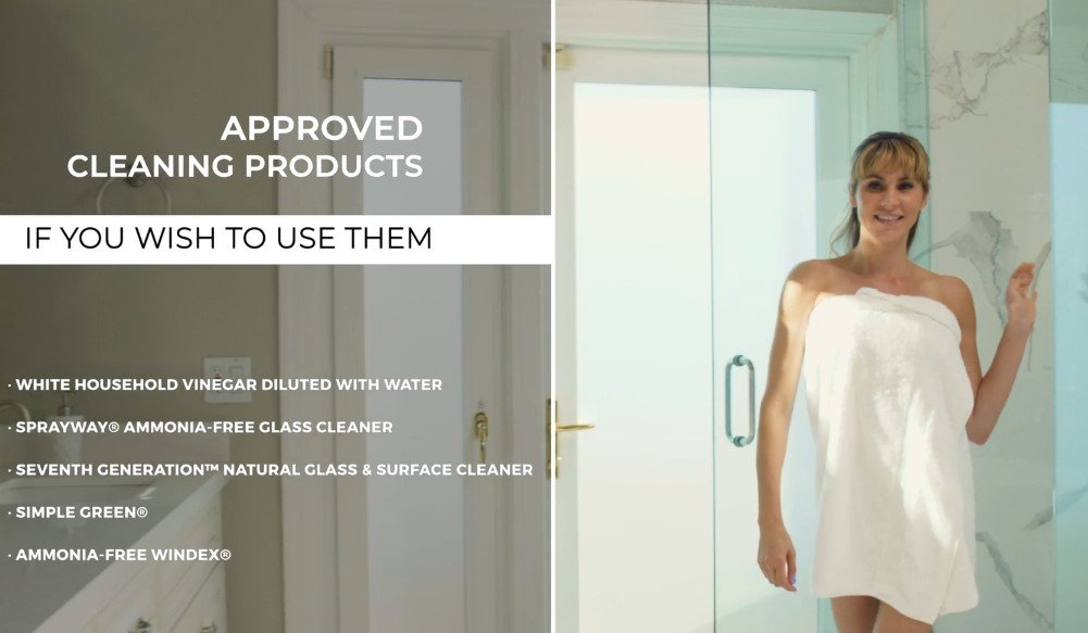 Diamon-Fusion Shower Door Care Video