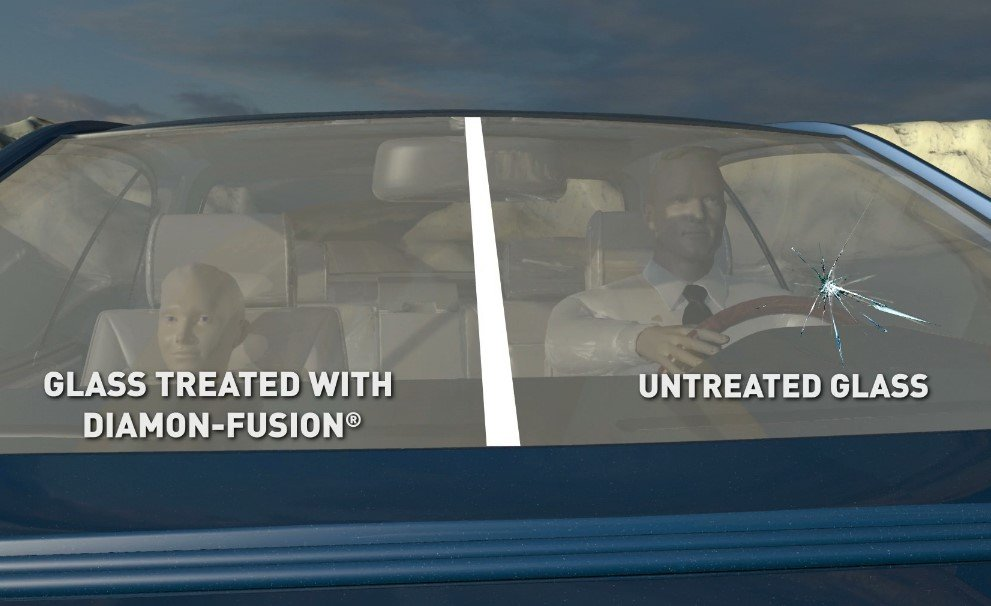 Diamon-Fusion Windshield Road Test