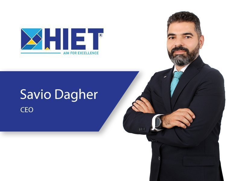HIET announced today the appointment of a new CEO, Mr.Savio Dagher
