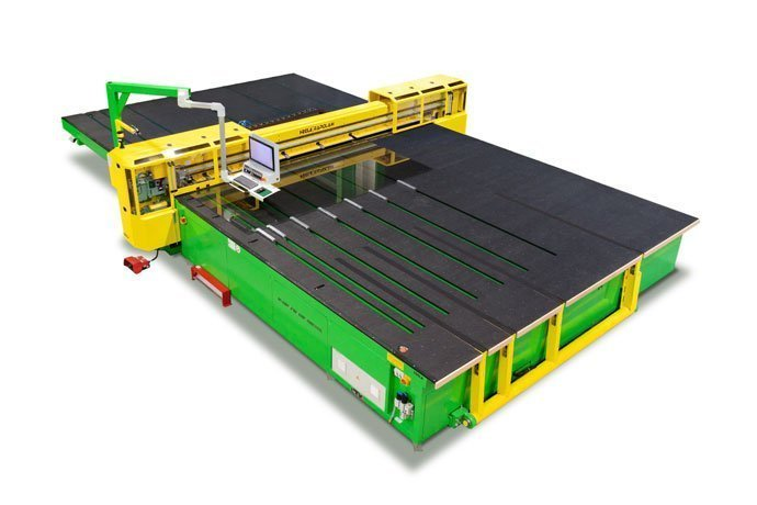 New heating technology: HEGLA shortens cycle time in LSG cutting