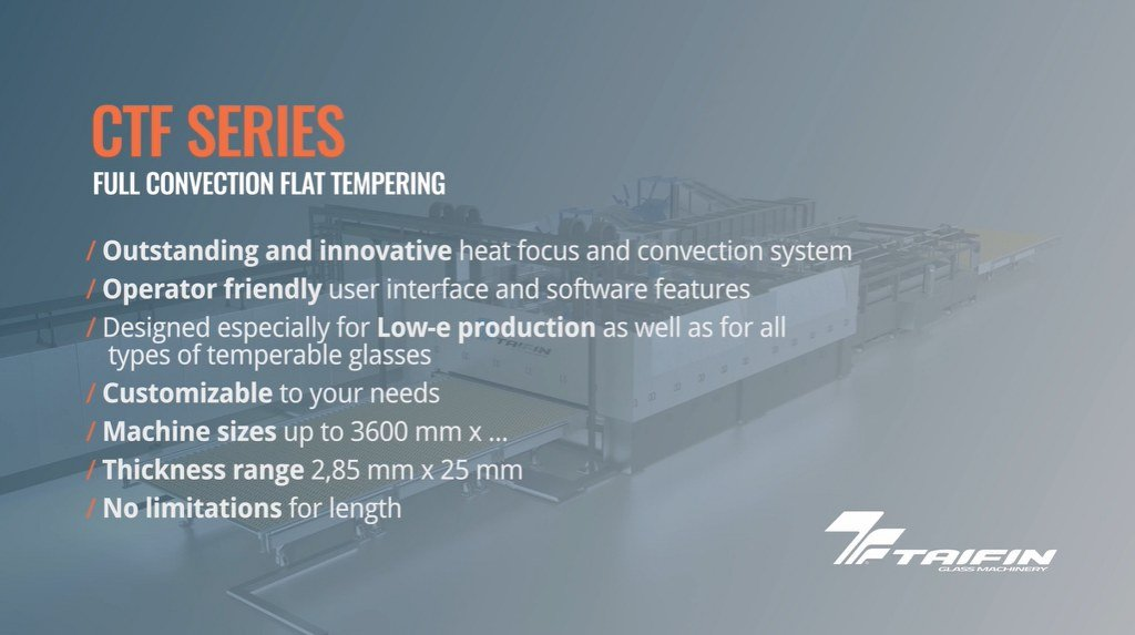Taifin CTF Series: Full Convection Flat Tempering