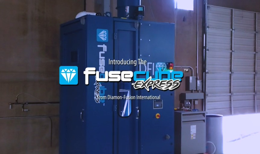 High-speed FuseCube Express Protective Glass Coating Machine